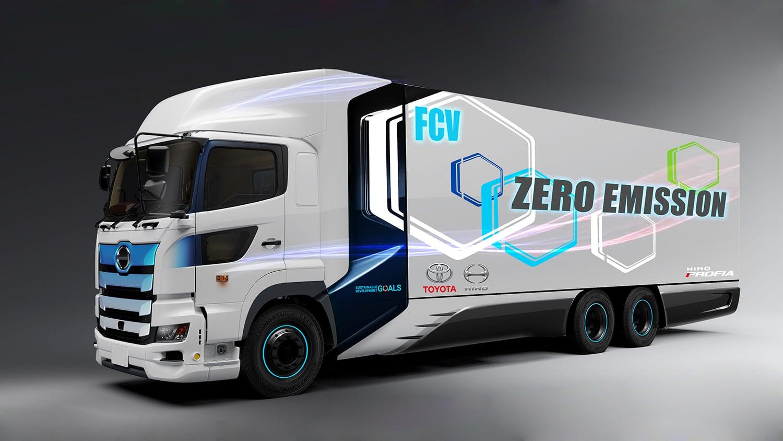 تویوتا برای تولید کامیون هیدروژنی در آمریکا آماده میشود